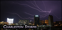 Photography of Charleston, WV storms