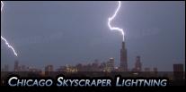 Chicago Skyscraper Lightning