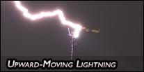 Upward-moving lightning
