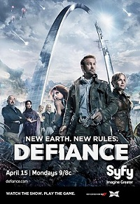 Arch imagery for Defiance on Syfy