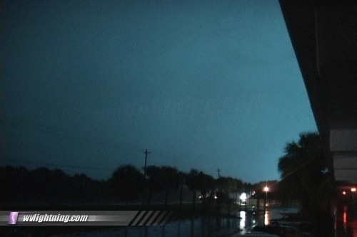 Power Flashes: Arcing power lines during storm events