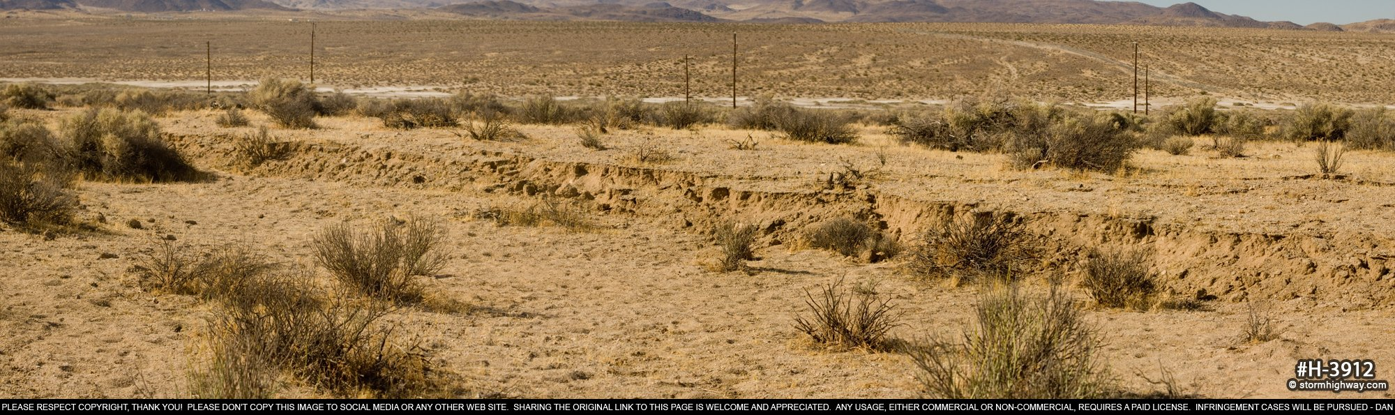 Surface rupture scarps from magnitude 7.1 earthquake near Ridgecrest, CA