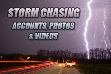 Storm Chasing Accounts and Imagery