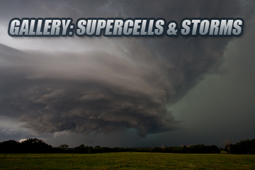 Supercells and Thunderstorms Gallery