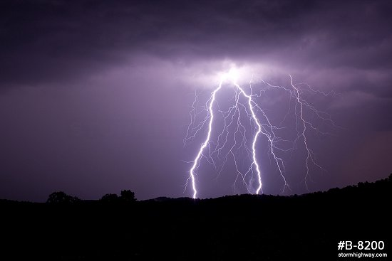 Vivid bolts in Ritchie County, WV