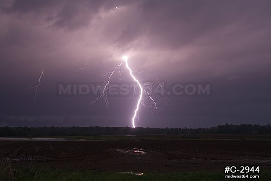 Vivid Arkansas bolts
