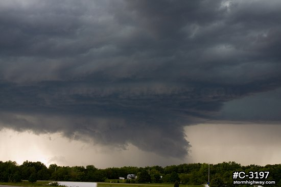 St. Louis metro supercell