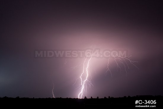 Barrage of bolts from OK storm
