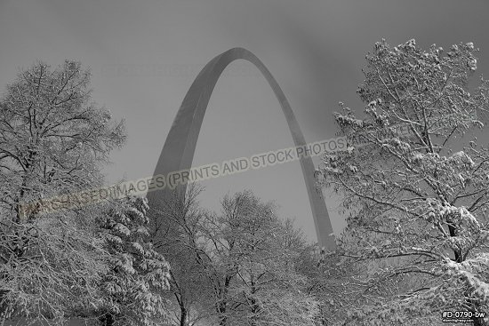Christmas snowstorm Arch