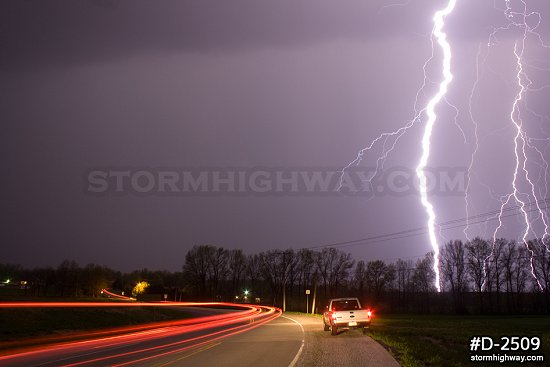 Intense bolts in Missouri