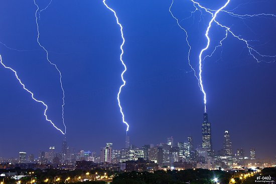 CATEGORY: Urban and City Lightning