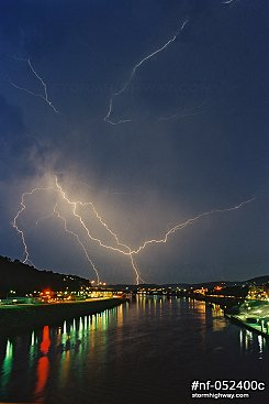 Over the Kanawha River